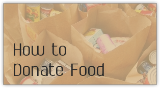 How to Donate Food